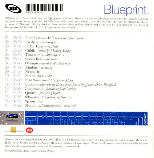 Blueprint 808 state songs reviews credits allmusic blueprint blueprint malvernweather Gallery
