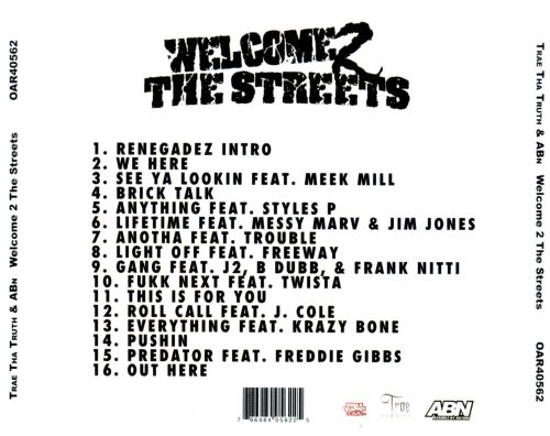 Welcome 2 the Streets