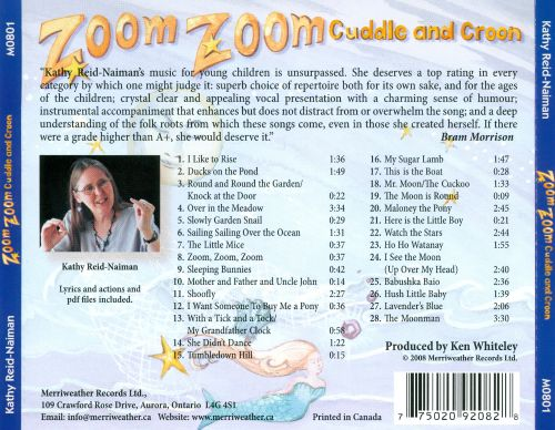 Zoom Zoom Cuddle and Croon
