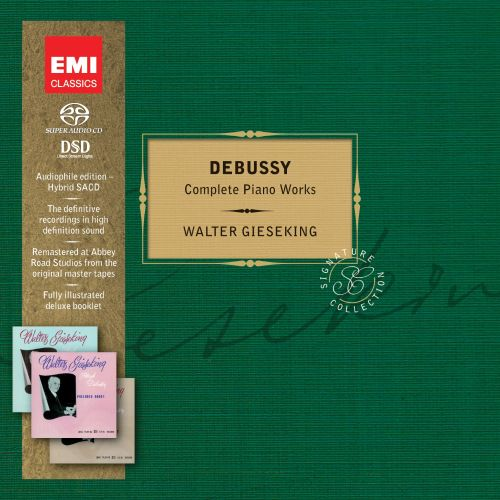 Debussy: Complete Piano Works [Limited Edition]
