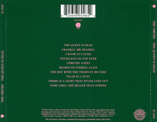 The Queen Is Dead The Smiths Songs Reviews Credits