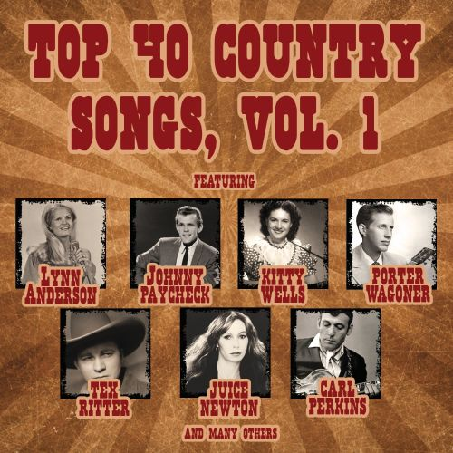 Top 40 Country Songs, Vol. 1 - Various Artists
