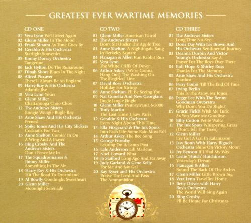 Greatest Ever! Wartime Memories