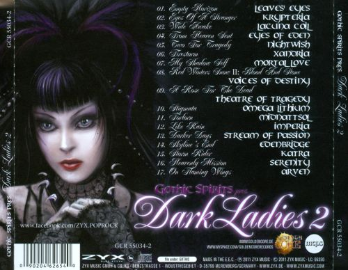 Gothic Spirits: Dark Ladies, Vol. 2