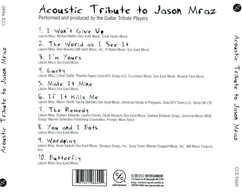 Acoustic Tribute to Jason Mraz