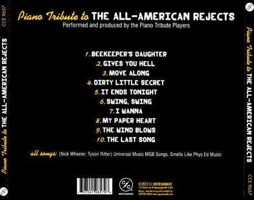 Piano Tribute To The All-American Rejects