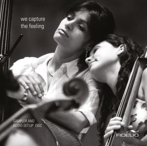 We Capture the Feeling: Sampler and Audio Set-Up Disc