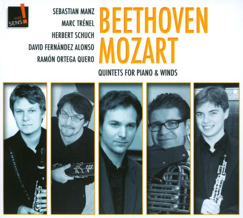 Beethoven, Mozart: Quintets for piano & winds
