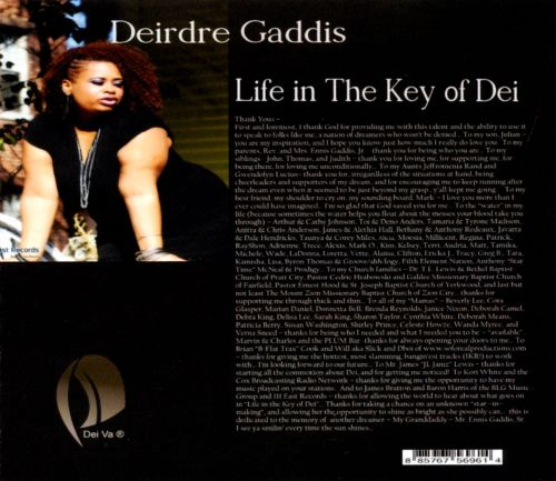 Life In the Key of Dei