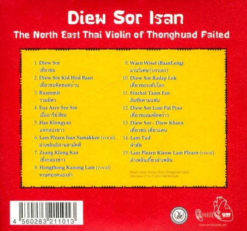 Diew Sor Isan: The North East Thai Violin of Thonghuad Faited