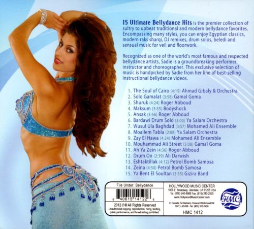 15 Ultimate Bellydance Hits