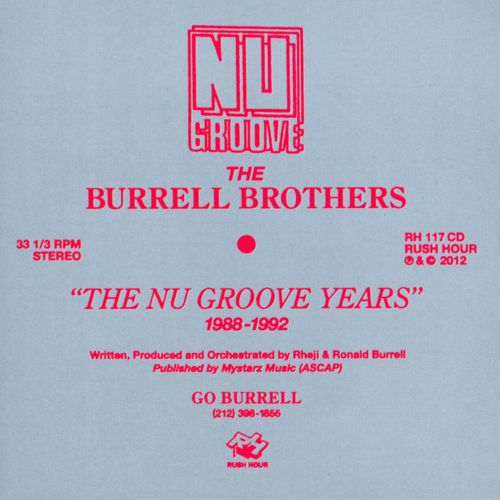 The Nu Groove Years 1988-1992