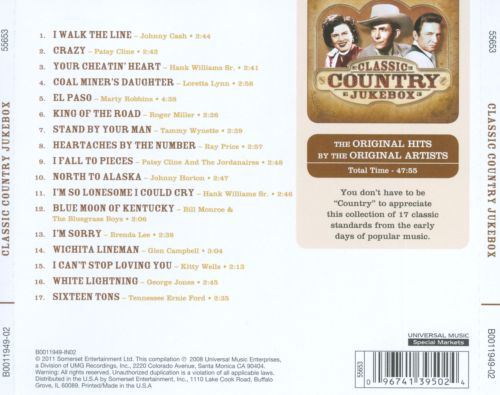 Classic Country Jukebox