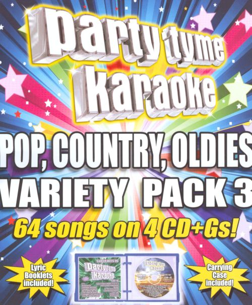 Party Tyme Karaoke: Pop, Country, Oldies Variety Pack, Vol. 3