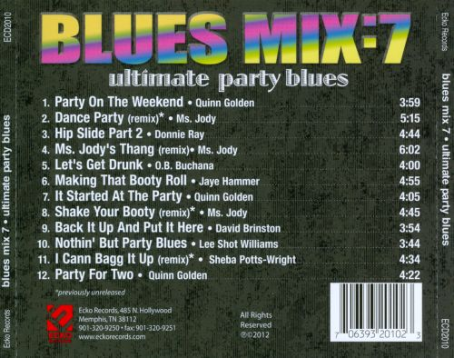 Blues Mix, Vol. 7: Ultimate Party