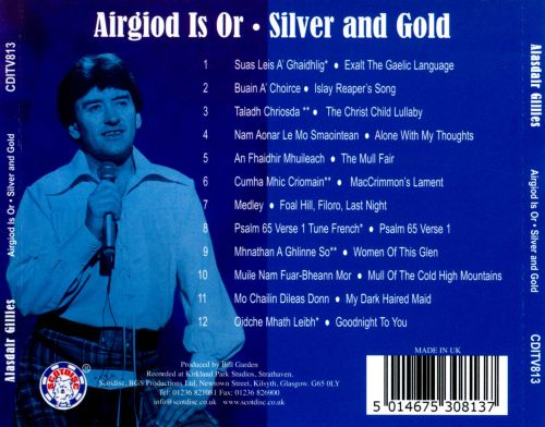 Airgiod is or [Silver and Gold]