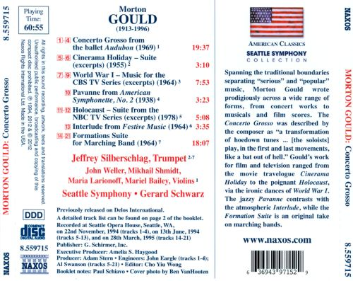 Morton Gould: Concerto Grosso from