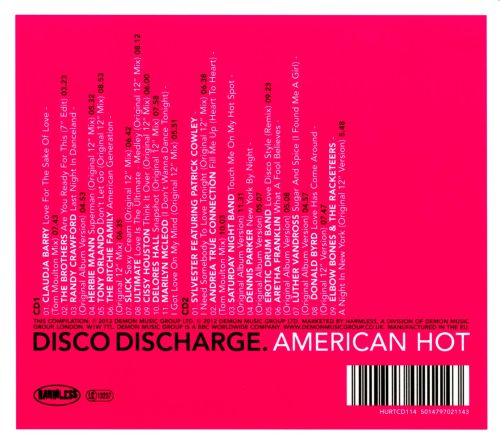 Disco Discharge: American Hot