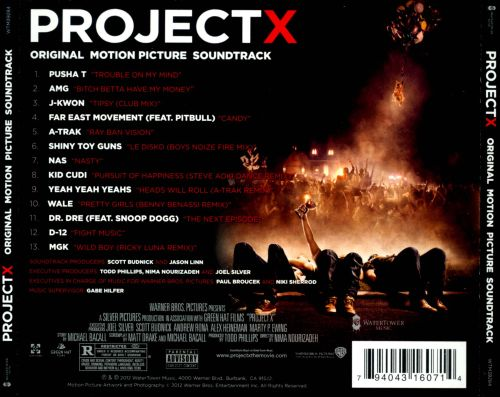 Project X Soundtrack (Expanded by James Horner)