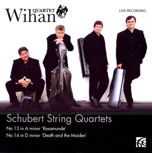 Schubert String Quartets: No. 13 in A minor 'Rosamunde', No. 14 in D minor 'Death and the Maiden'