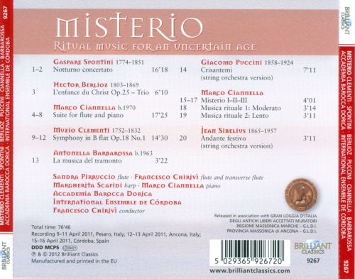 Misterio: Ritual Music for an Uncertain Age