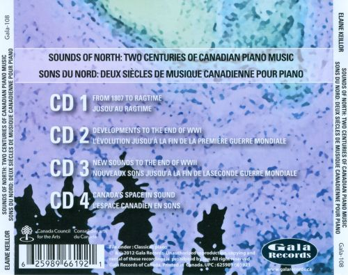 Sounds of North: Two Centuries of Canadian Piano Music