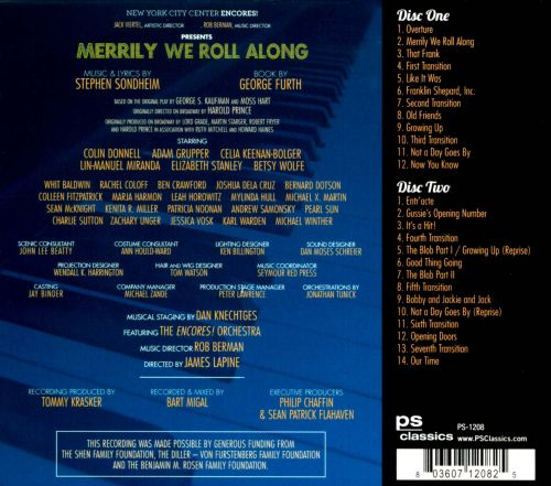 Merrily We Roll Along [PS Classics]