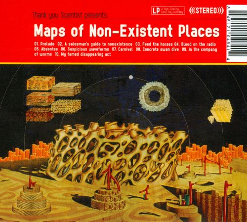 Maps of Non-Existent Places