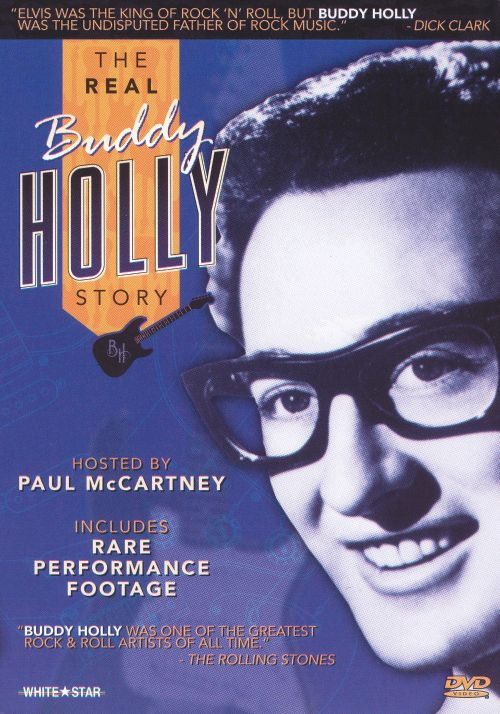 The Real Buddy Holly Story [DVD]