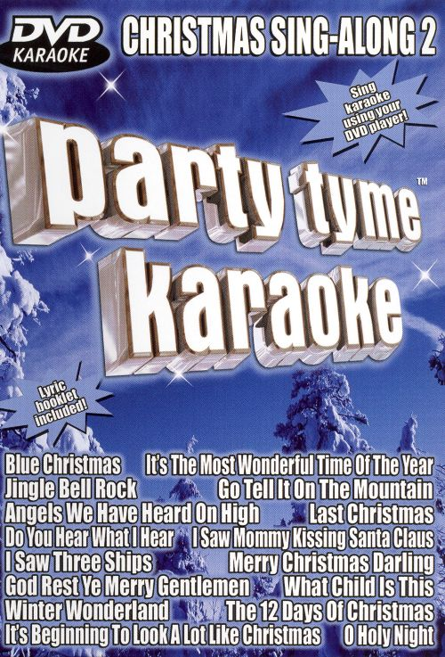 party tyme karaoke dvd christmas sing along vol 2 - Blue Christmas Karaoke