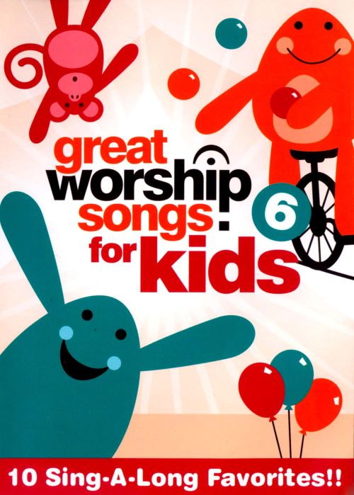 Great Worship Songs for Kids, Vol  6 [DVD] - Great Worship Songs