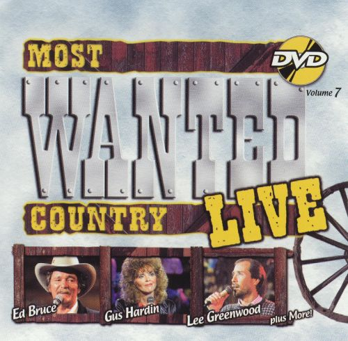 Most Wanted Country Live, Vol. 7 [DVD & CD]