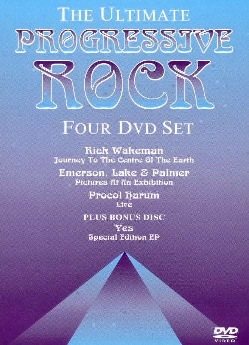 Progressive Rock [DVD 4-Pack]