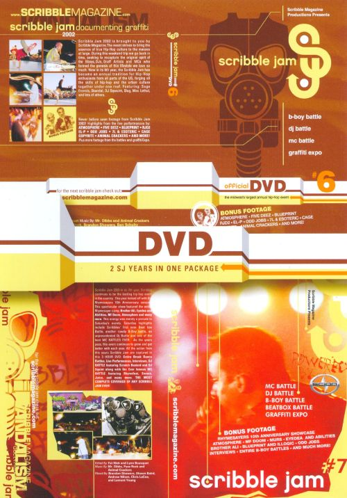 Scribble Jam, Vols. 6 & 7 [Double Sided DVD]