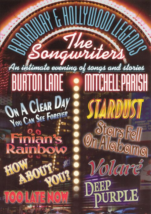 Broadway & Hollywood Legends - The Songwriters: Burton Lane/Mitchell Parish
