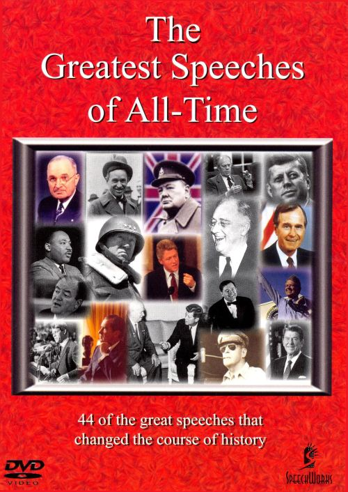 Great Speeches of All-Time, Vol. 3