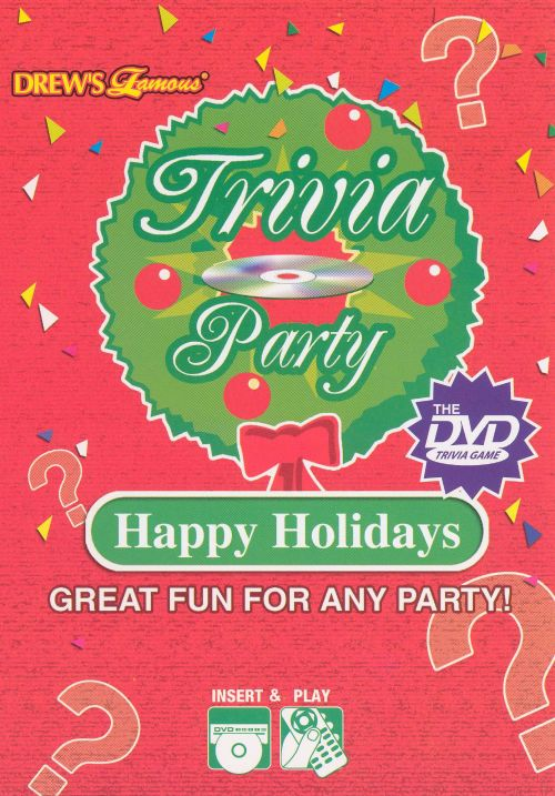 Trivia Party Game Happy Holidays