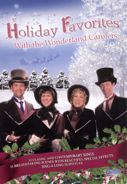 Holiday Favorites with the Wonderland Carolers [DVD]