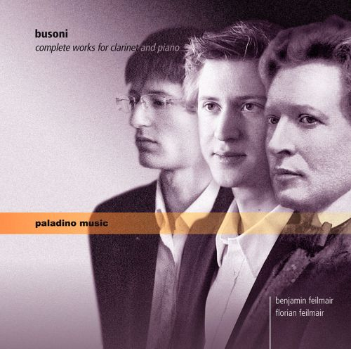 Busoni: Complete Works for Clarinet & Piano