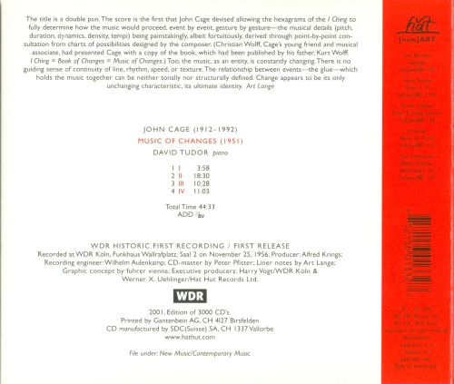 John Cage: Music of Changes