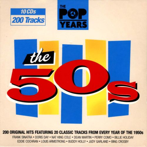 The Pop Years: The 50s - Various Artists