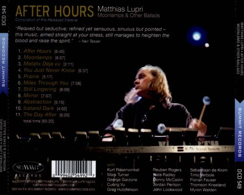 After Hours: Moonlamps & Other Ballads