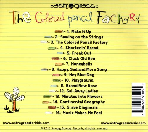 The Colored Pencil Factory