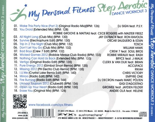 My Personal Fitness: Step Aerobi Dance Workout, Vol. 3