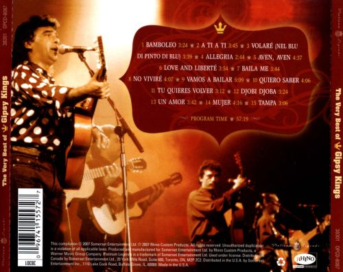 The Very Best of Gipsy Kings [Platinum Legends]