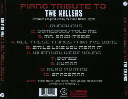 Piano Tribute To the Killers