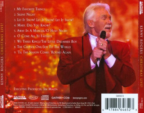 Christmas Live! - Kenny Rogers | Songs, Reviews, Credits | AllMusic