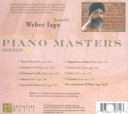 Adventure Music: Piano Masters Series, Vol. 3