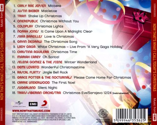 Now That's What I Call Today's Christmas - Various Artists | Songs ...