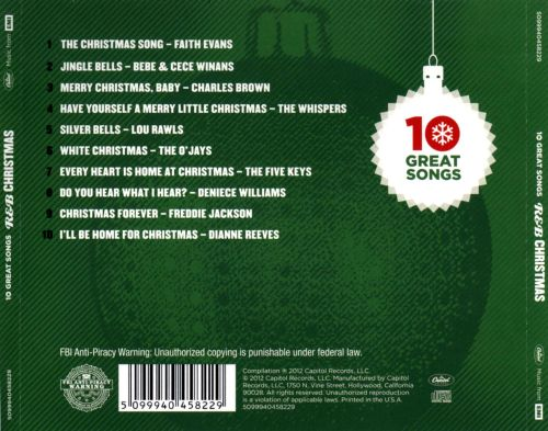 R&B Christmas: 10 Great Songs - Various Artists | Songs, Reviews ...
